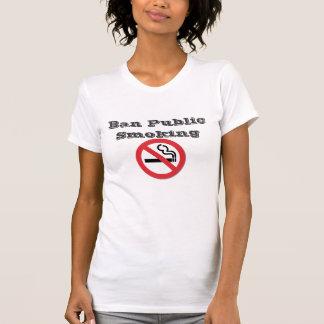 Verbot-Öffentlichkeits-Rauchen Tshirts