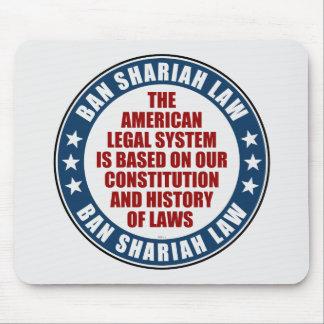 Verbot Shariah Gesetz Mousepad