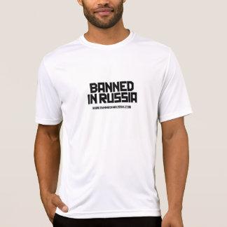 Verboten in Russland - T - Shirt der Sport der