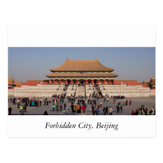 Verbotene Stadt, Peking Postkarte