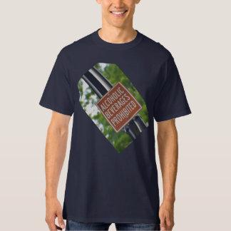 Verbotener Alkoholiker T Shirt