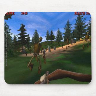 Verbotener Wald 3 Retro Mousepad