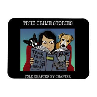 Verbrechen-Geschichten-großer Magnet