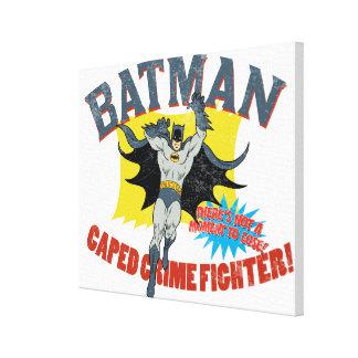 Verbrechen-Kämpfer Batmans Caped Gespannte Galeriedrucke