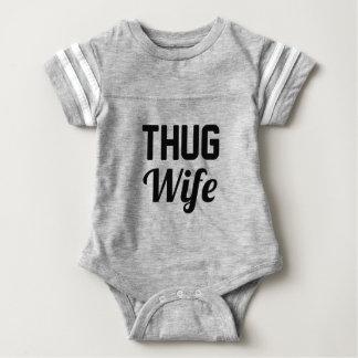 Verbrecher-Ehefrau Baby Strampler
