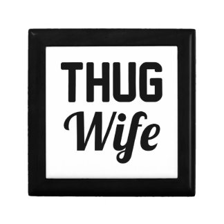 Verbrecher-Ehefrau Geschenkbox