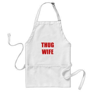 Verbrecher-Ehefrau Schürze