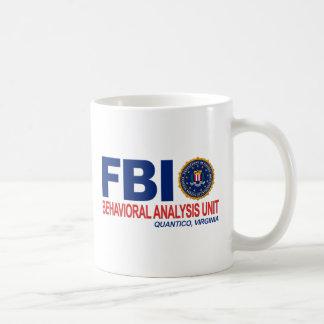 Verbrecher FBI BAU Kaffeetasse