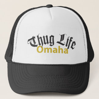 Verbrecher-Leben Omaha Truckerkappe