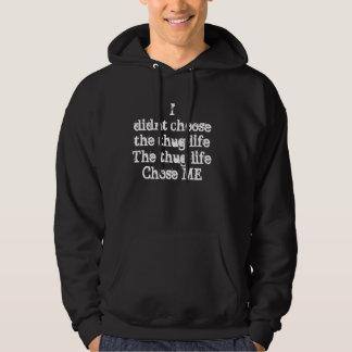 Verbrecherleben-Sweatshirt Hoodie