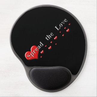 Verbreiten Sie die Liebe Gel Mousepad