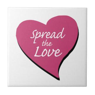 Verbreiten Sie die Liebe Keramikfliese
