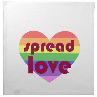 Verbreiten Sie homosexuelle Liebe Stoffserviette