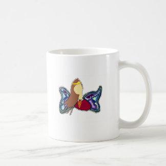 verbreiten Sie Ihre Flügel Kaffeetasse