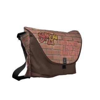 Verbreiten Sie Liebegraffiti-Zeichen-Kunst-Tasche Kurier Tasche