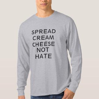 verbreiten Sie Shirtentwurf des Hasses des T-Shirt