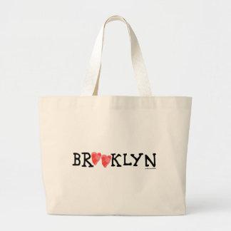 """""""Verbreitungs-Liebe ist es die Brooklyn-Weise!"""" Jumbo Stoffbeutel"""