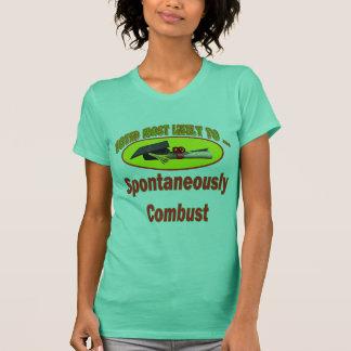 Verbrennen Sie spontan T-Shirt