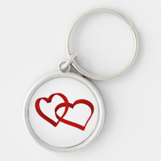 Verbundene Herzen Keychain Schlüsselanhänger