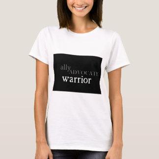 Verbündeter, Anwalt, Krieger-T - Shirt