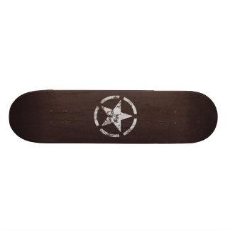 Verbündeter weißer Stern US Vintag Personalisiertes Deck