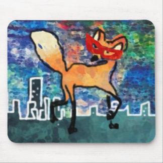 Verdeckter roter Fuchs Mousepad