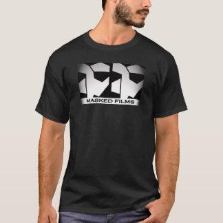 Verdecktes Film-Film-Logo-Weiß T-Shirt