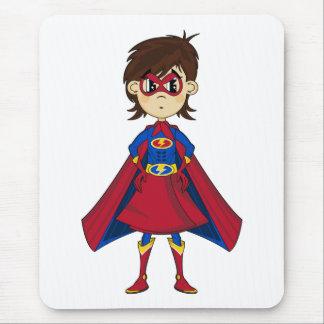 Verdecktes Superheld-Mädchen Mousepad