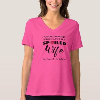 Verdorbene Ehefrau - ein welches Spaß-Shirt T-Shirt