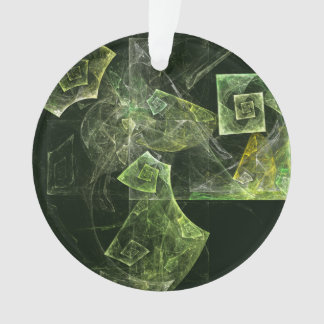 Verdrehte Balancen-abstrakter Kunst-Acryl-Kreis Ornament