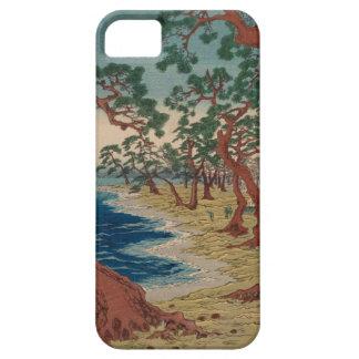 Verdrehte Bäume durch das Ufer Etui Fürs iPhone 5