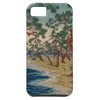 Verdrehte Bäume durch das Ufer Hülle Fürs iPhone 5