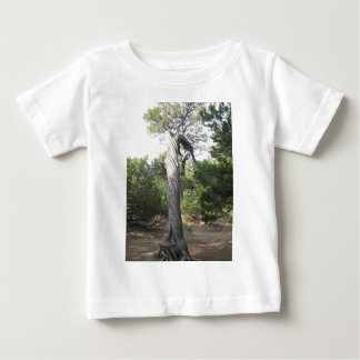 Verdrehter Baum Baby T-shirt