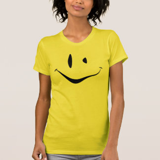 Verdrehter Smiley T-Shirt