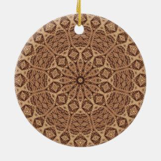Verdrehtes Seil-bunte Verzierungen Keramik Ornament