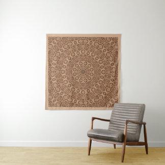 Verdrehtes Seil-Vintage Wandteppich