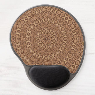 Verdrehtes Seil-Vintages Kaleidoskop-Gel Mousepad