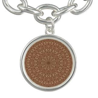 Verdrehtes Seil-Vintages Muster-Charme-Armband Charm Armband