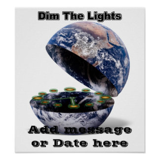 Dim The Lights For Earth Hour (Earth Open)