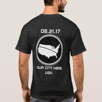 Verdunkeln Sie Ihre Stadt 08.21.17 T-Shirt