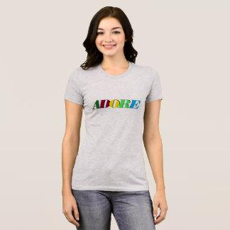 Verehren Sie den T - Shirt der Frauen
