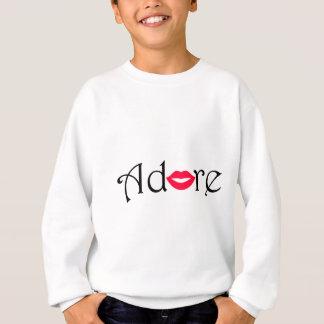 Verehren Sie mit einem Kuss Sweatshirt