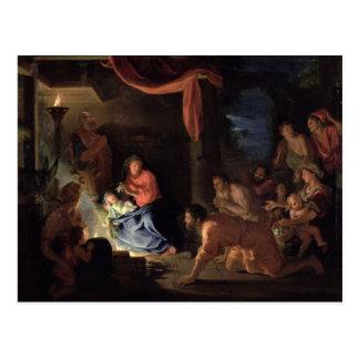 Verehrung der Schäfer, 1689 Postkarte