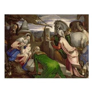 Verehrung der Weisen, 1563-64 Postkarte
