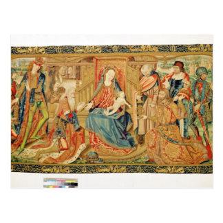 Verehrung der Weisen, 15.-1. Jahrhundert Postkarte