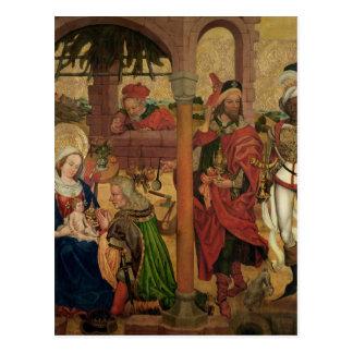 Verehrung der Weisen, c.1475 Postkarte
