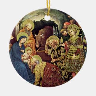 Verehrung der Weisen der Weise-(c1370-1427) in der Keramik Ornament