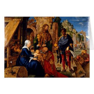 Verehrung der Weisen durch Albrecht Dürer, 1504AD Karte