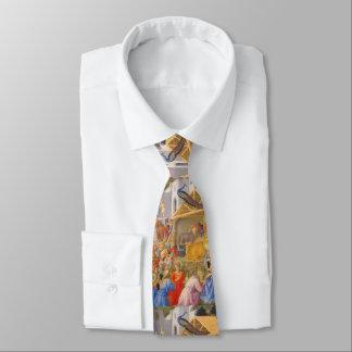 Verehrung der Weisen Fra Angelico Krawatte