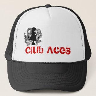Verein Aces Logo-Fernlastfahrer-Hut Truckerkappe